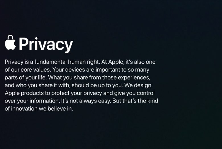Apple spills some of its secrets in new privacy white papers