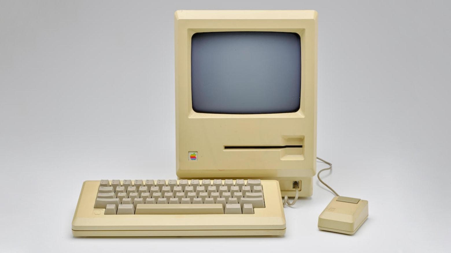 Apple Macintosh prototype with 5.25-inch drive