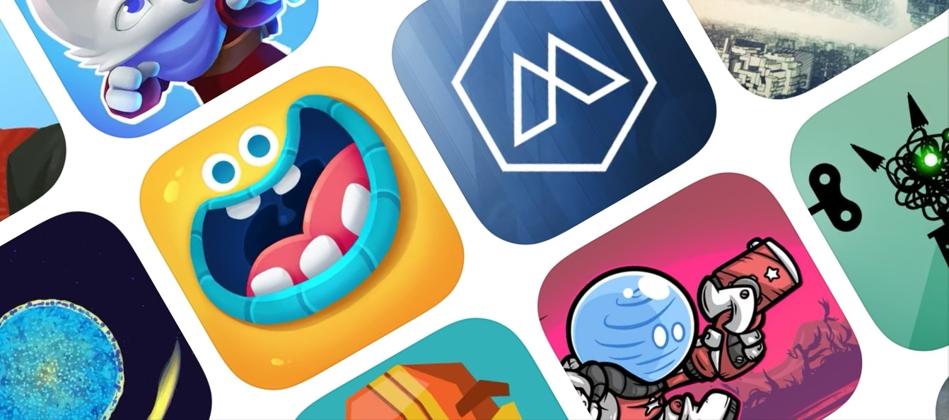 Apple Arcade game icons