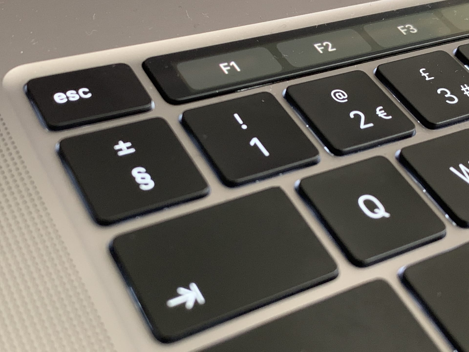 You can turn the Touch Bar into a row of permanent function keys, if you like.