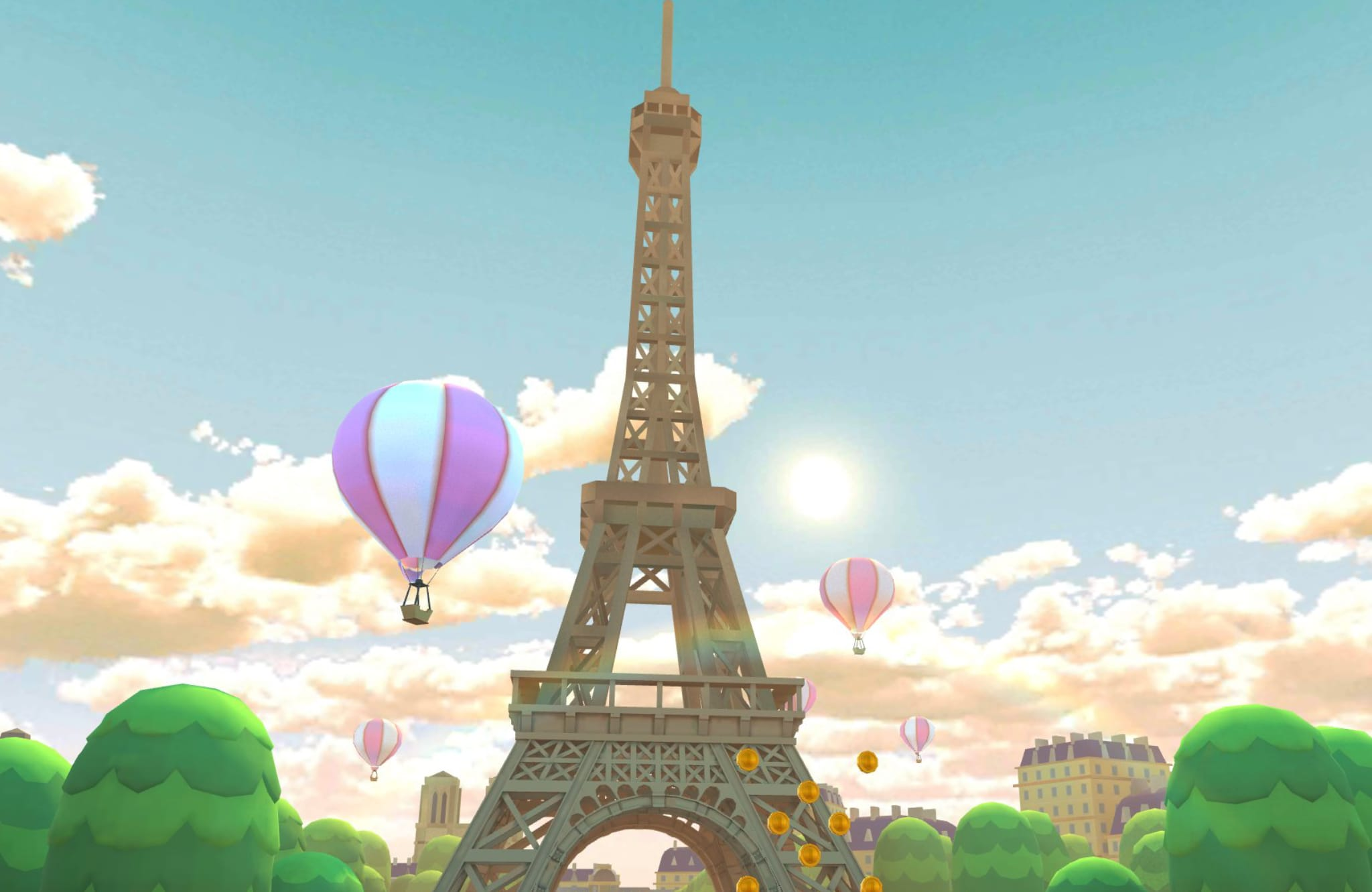 Sacré bleu! Mario Kart Tour will take players to Paris next