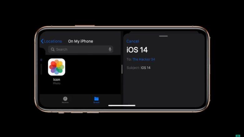 Split View on iPhone in iOS 14