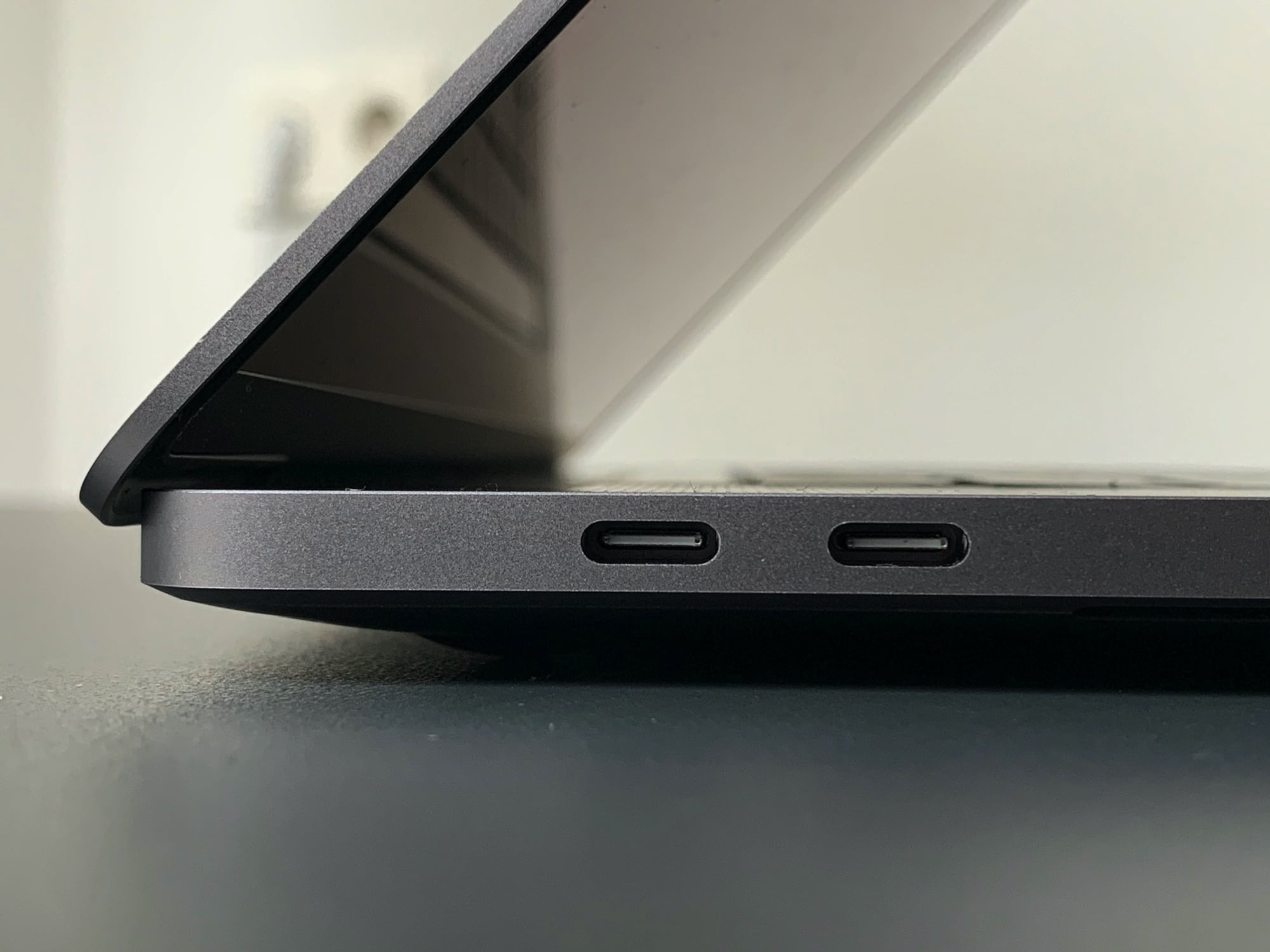 To an iPad user, four USB-C ports are a luxury.