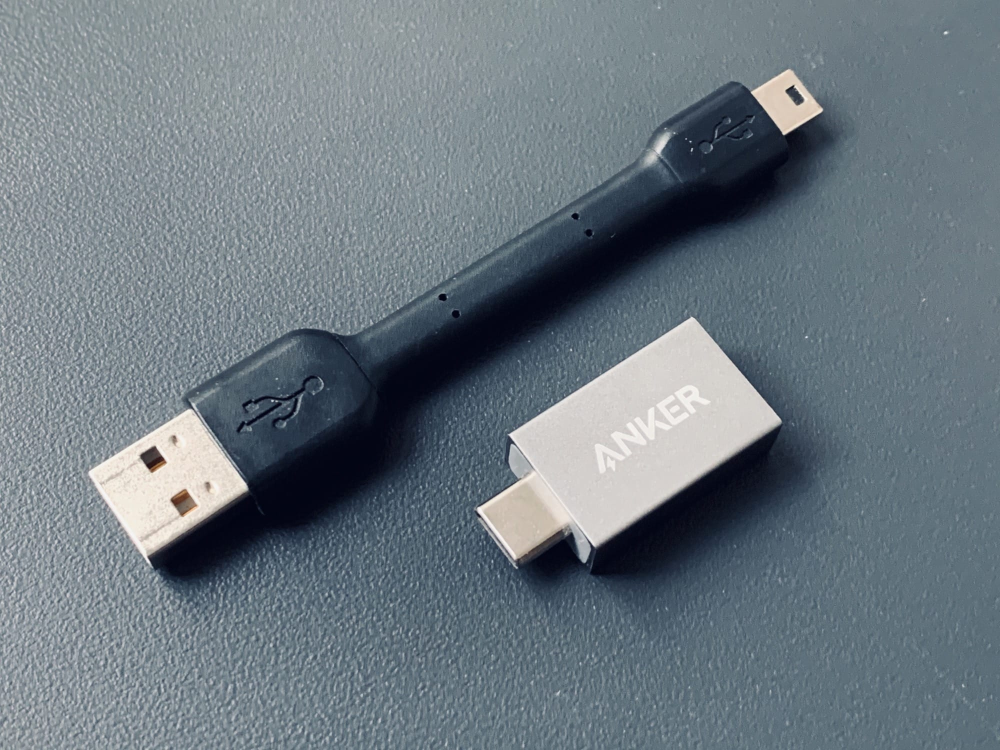 The Anker USB-C to USB-A Female Adapter is truly tiny.