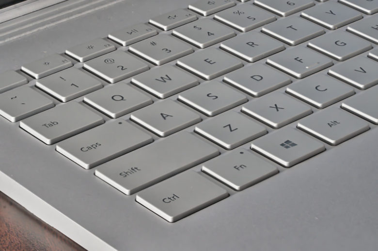 Macbook alternatives: The Surface Book comes with a 100%-working keyboard.