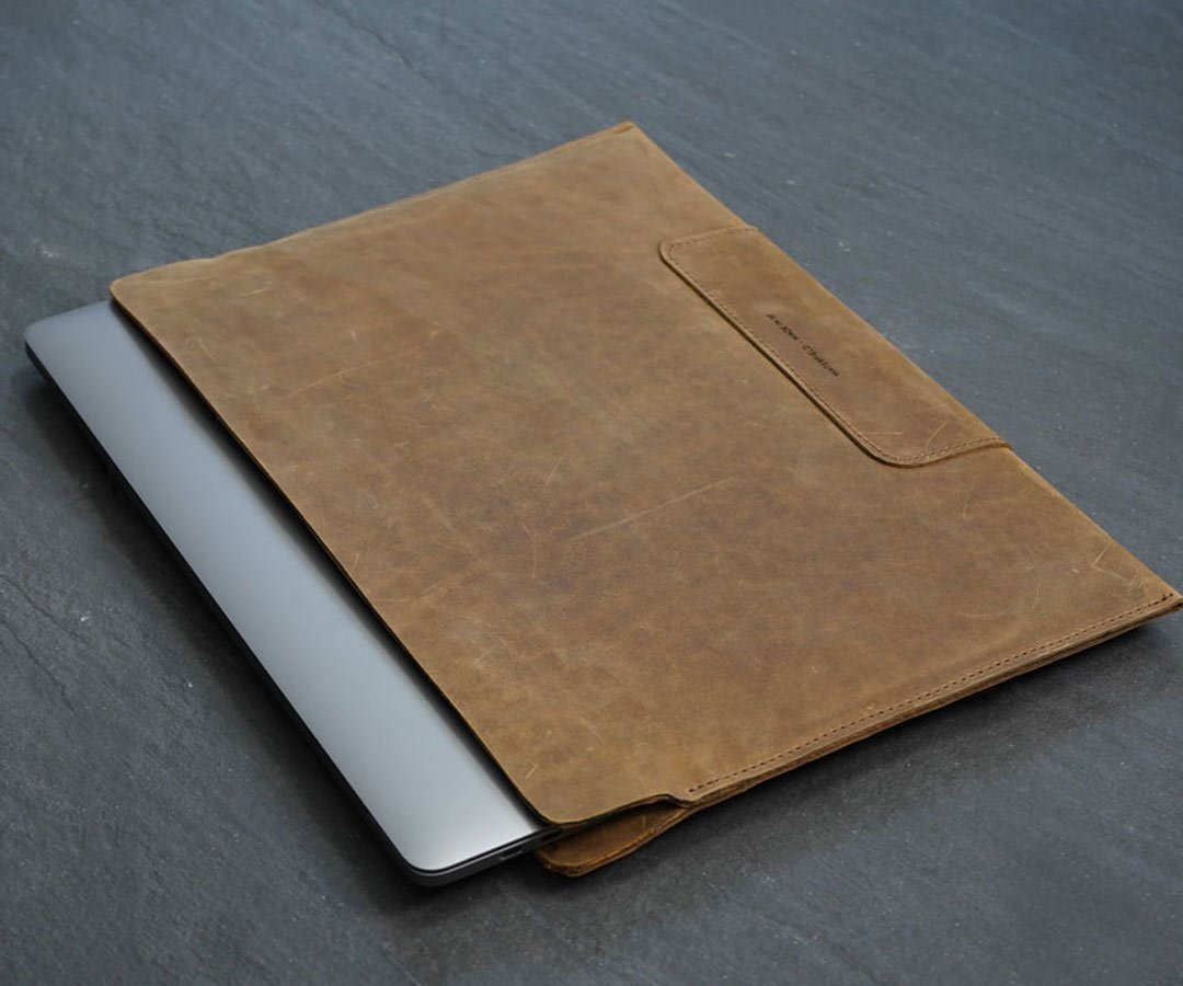 Best MacBook Pro accessories: WaterField Designs' slimline Vero case is great for toting a 16-inch MacBook Pro.