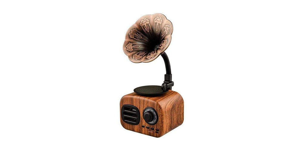 Retro Phonograph Bluetooth
