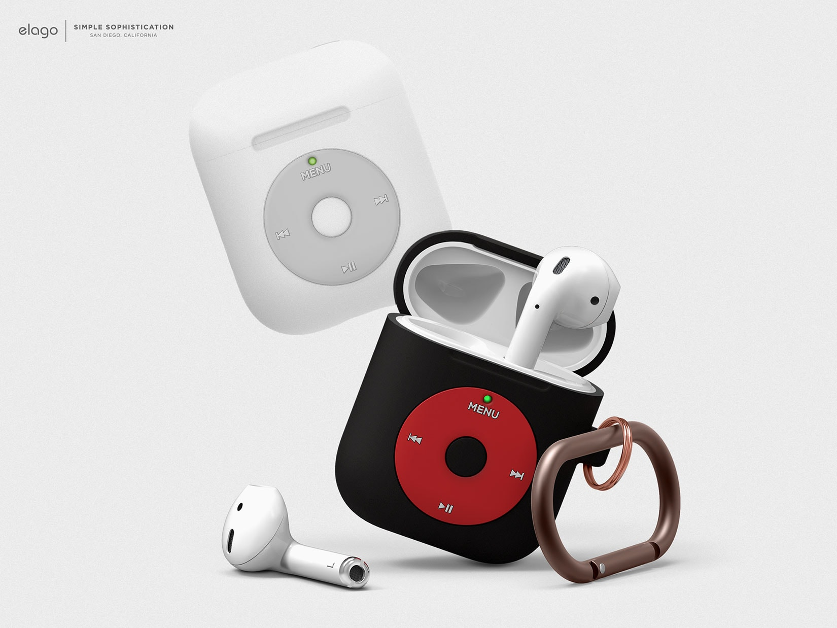 Elago AirPods case looks like iPod