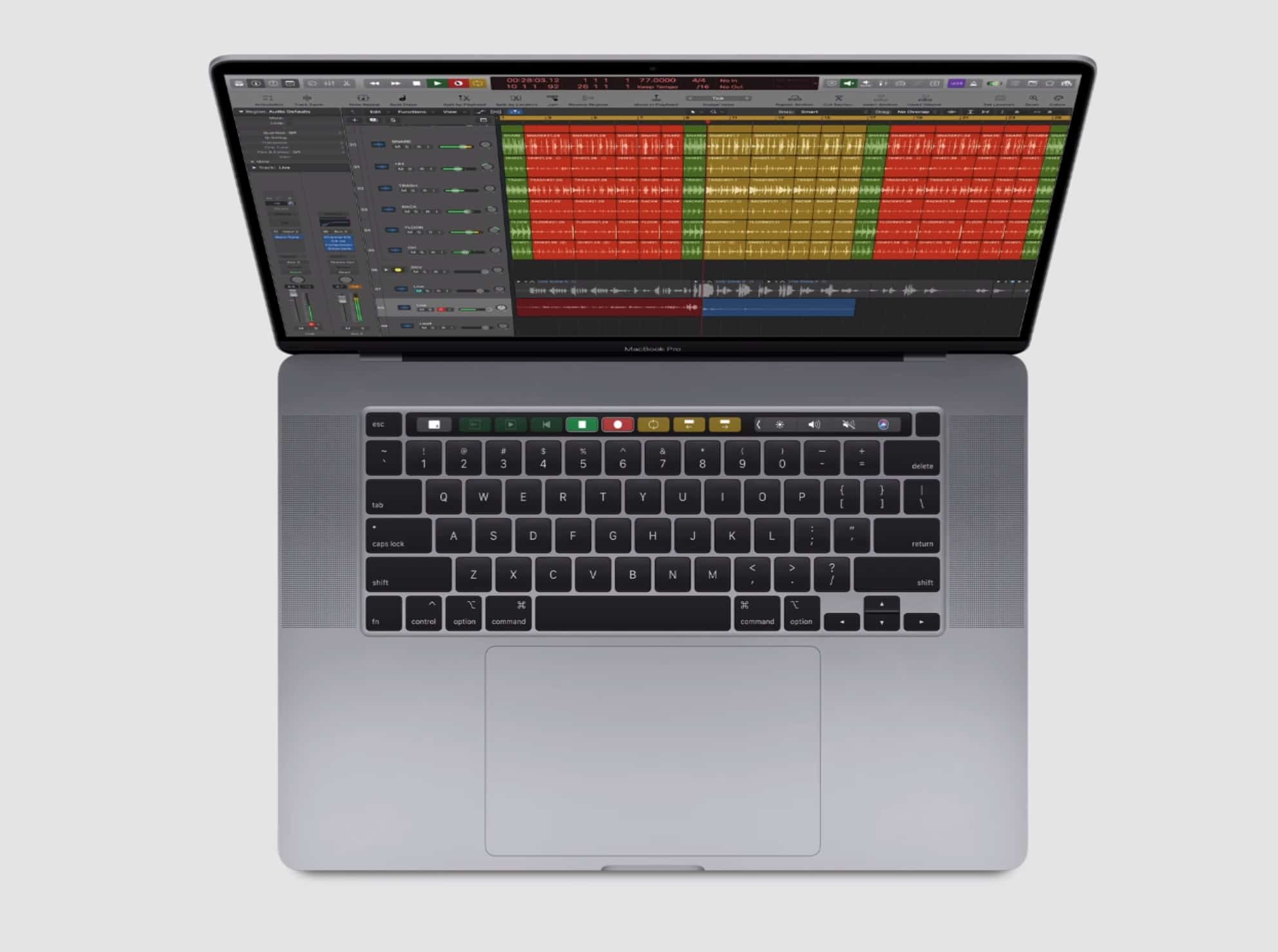 When it comes to quiet keyboards, MacBook Pro lags only behind Pixelbook Go