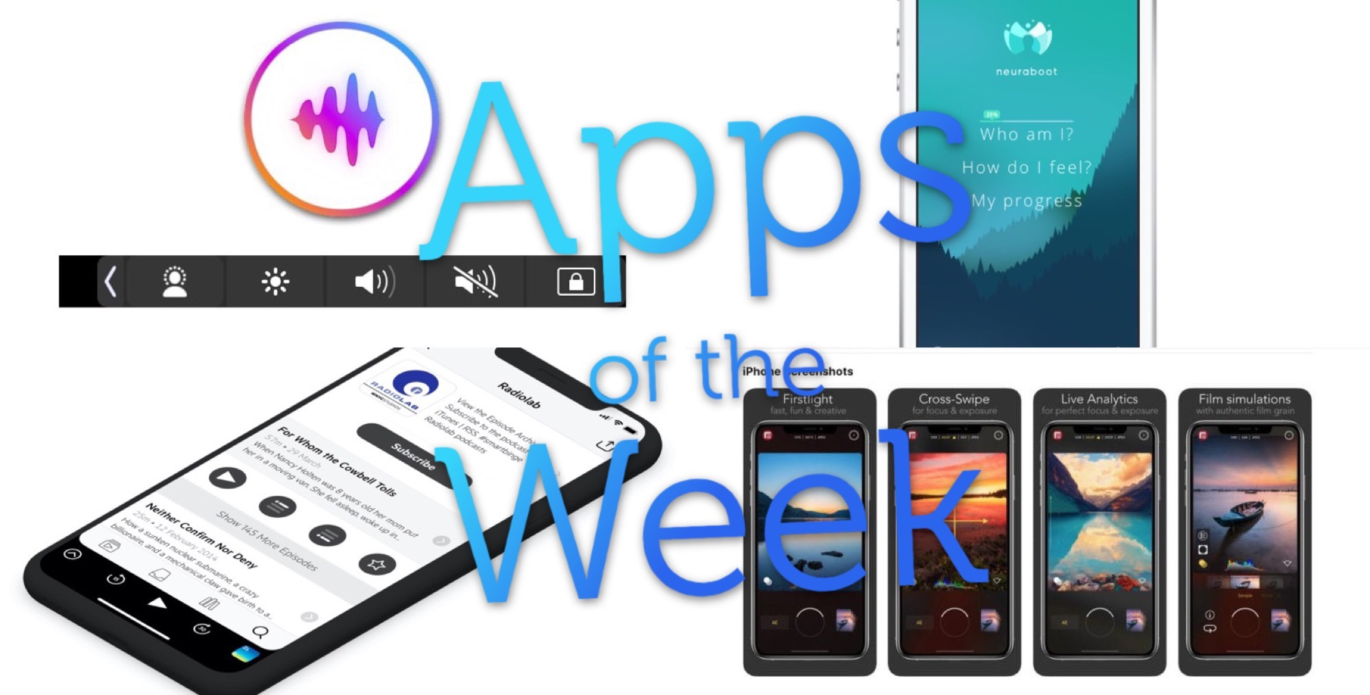 Download this week's top apps, pronto!