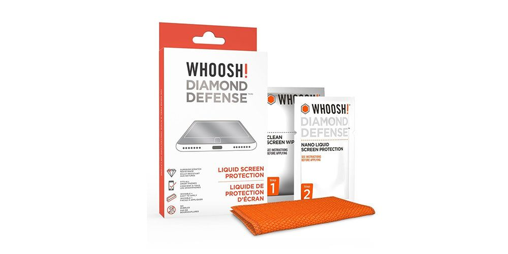 Whoosh!® Screen Shine Go + Diamond Defense Protection Bundle: Keep your iPhone's screen looking spotless with this highly reviewed product