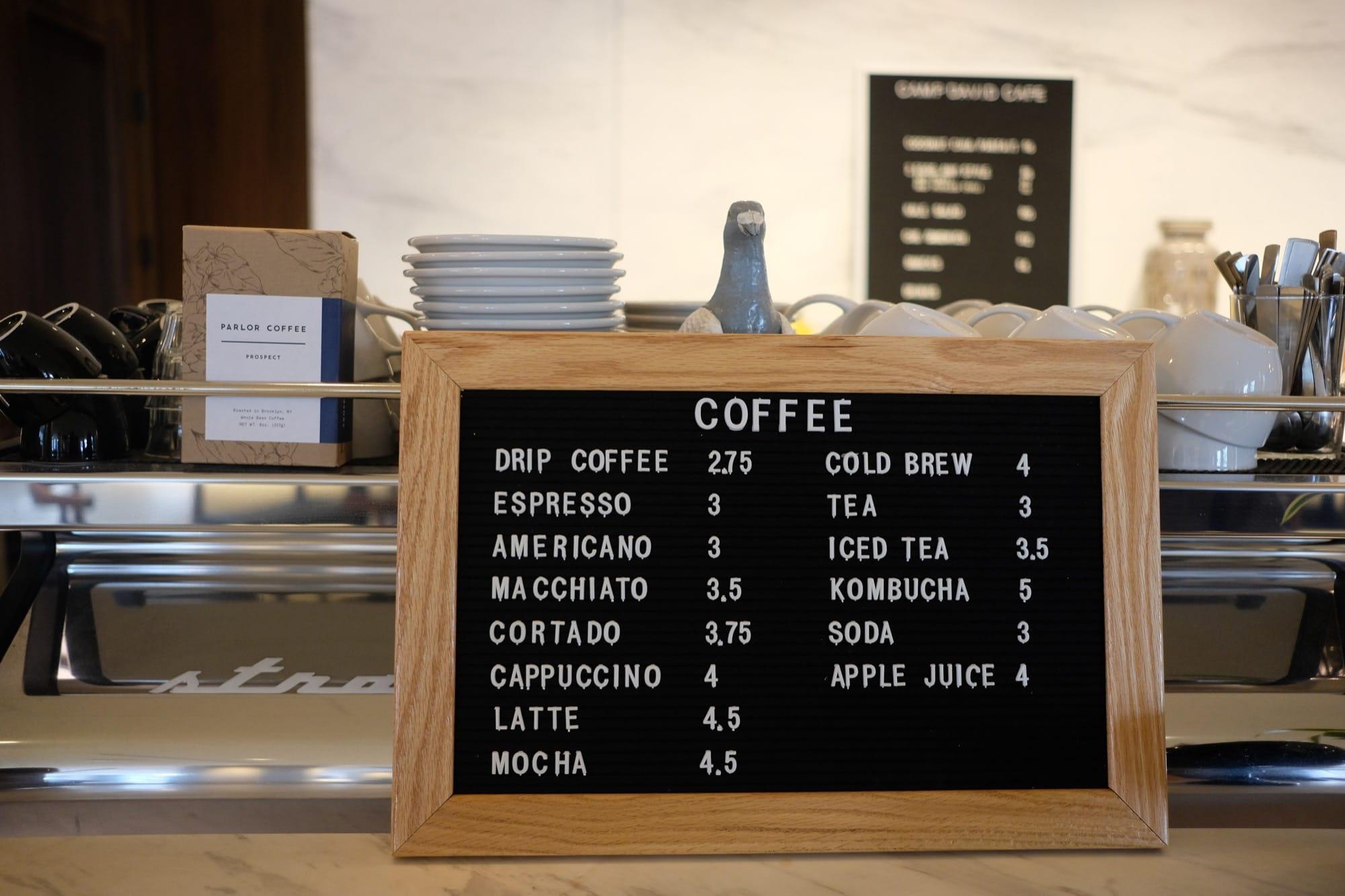 menu widgets