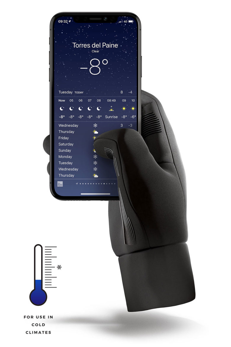 Double-insulated touchscreen gloves from Mujjo may be the only gloves you will need this winter