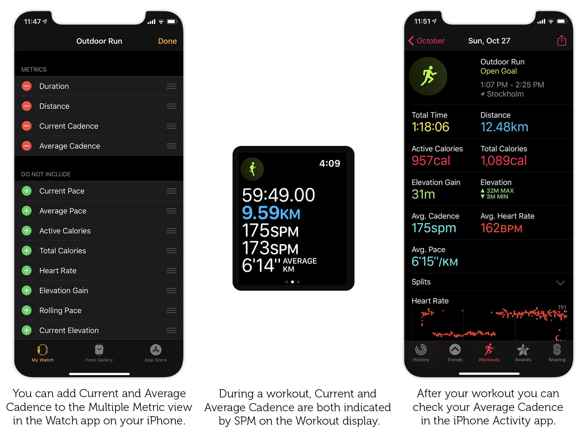 How to check your running cadence on iPhone and Apple Watch