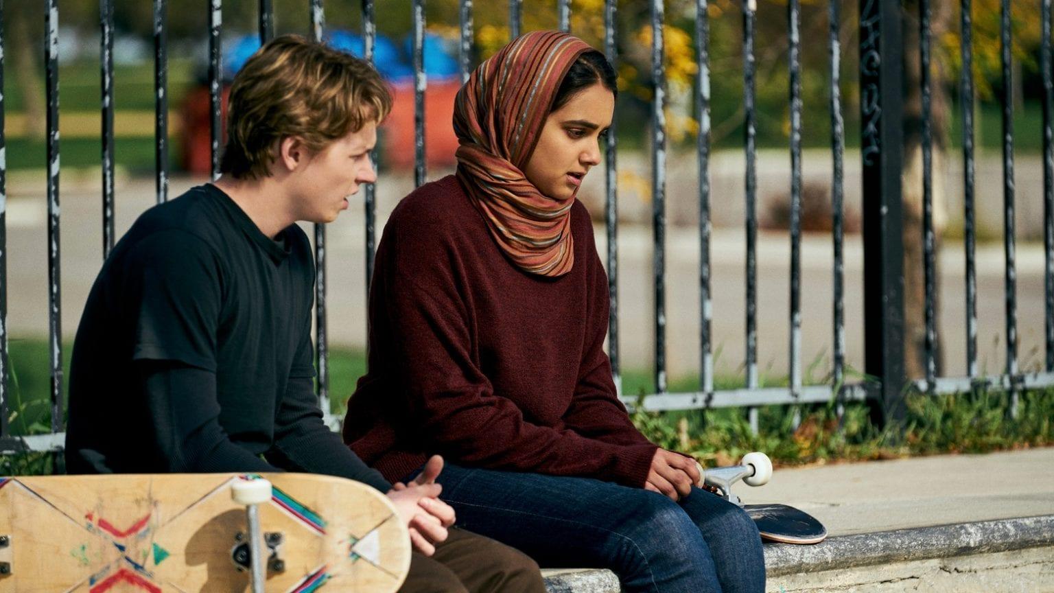 Hala stars Geraldine Viswanathan and Jack Kilmer