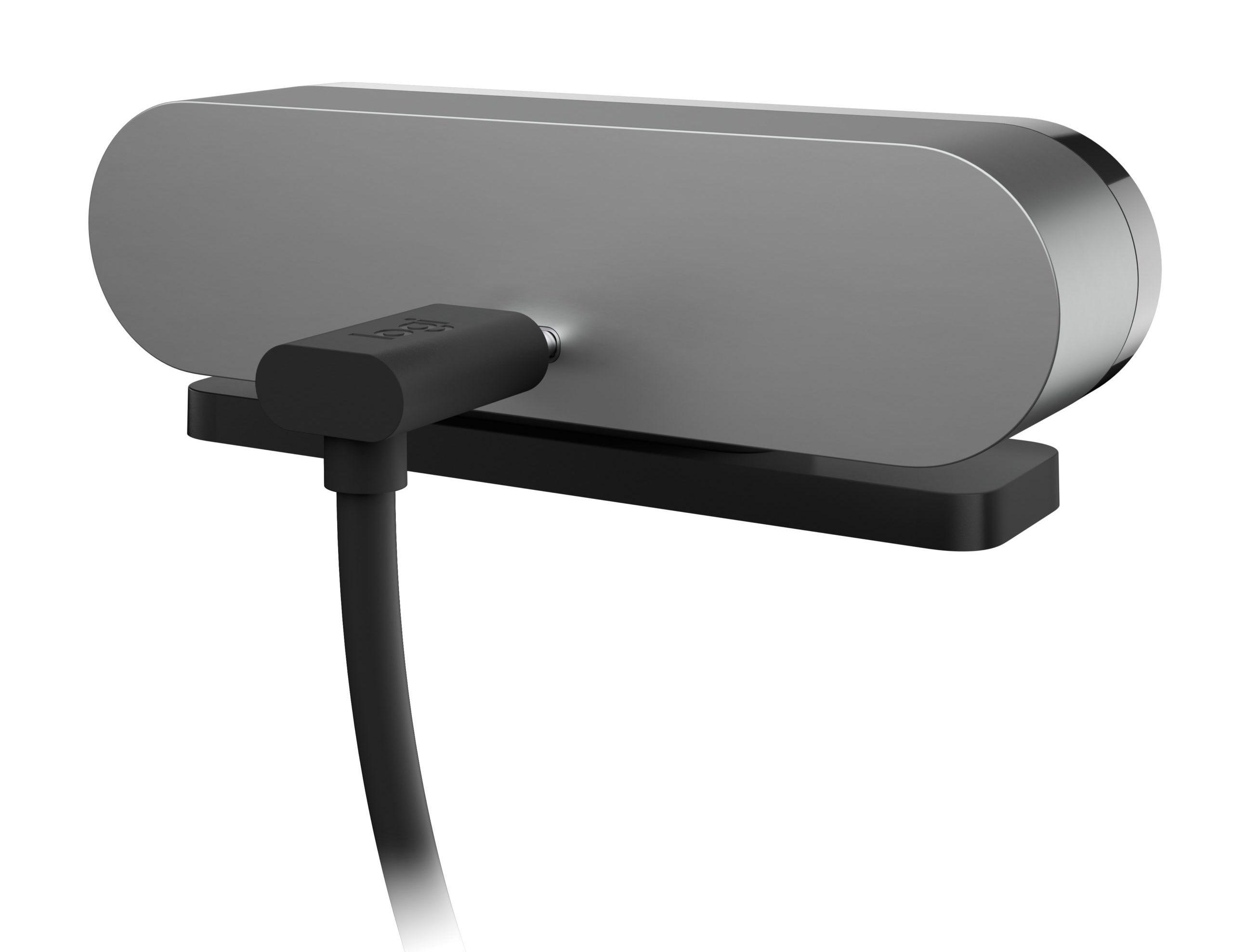 The Logitech 4K Pro Magnetic Webcam plug looks pretty normal