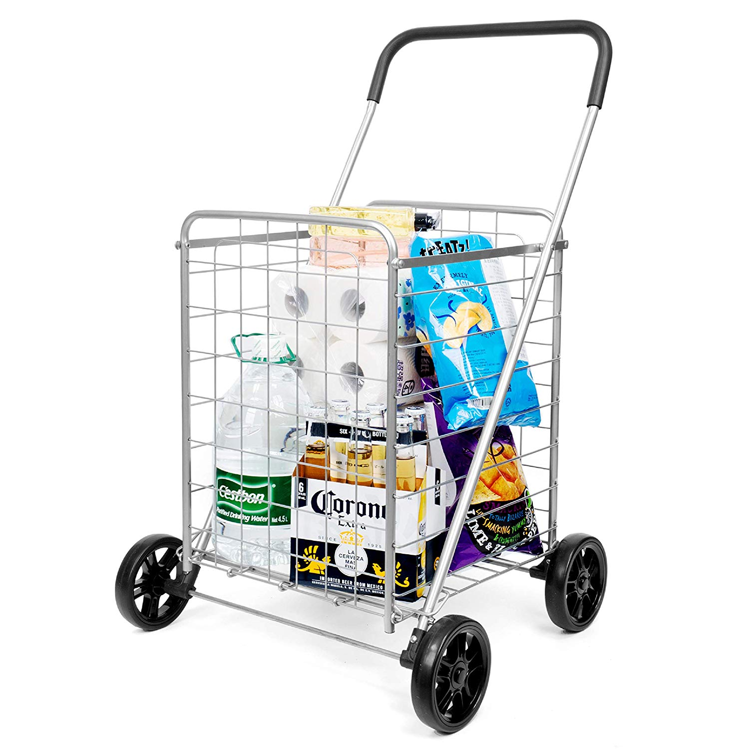 This cart is big enough to carry a Mac Pro, and some groceries.