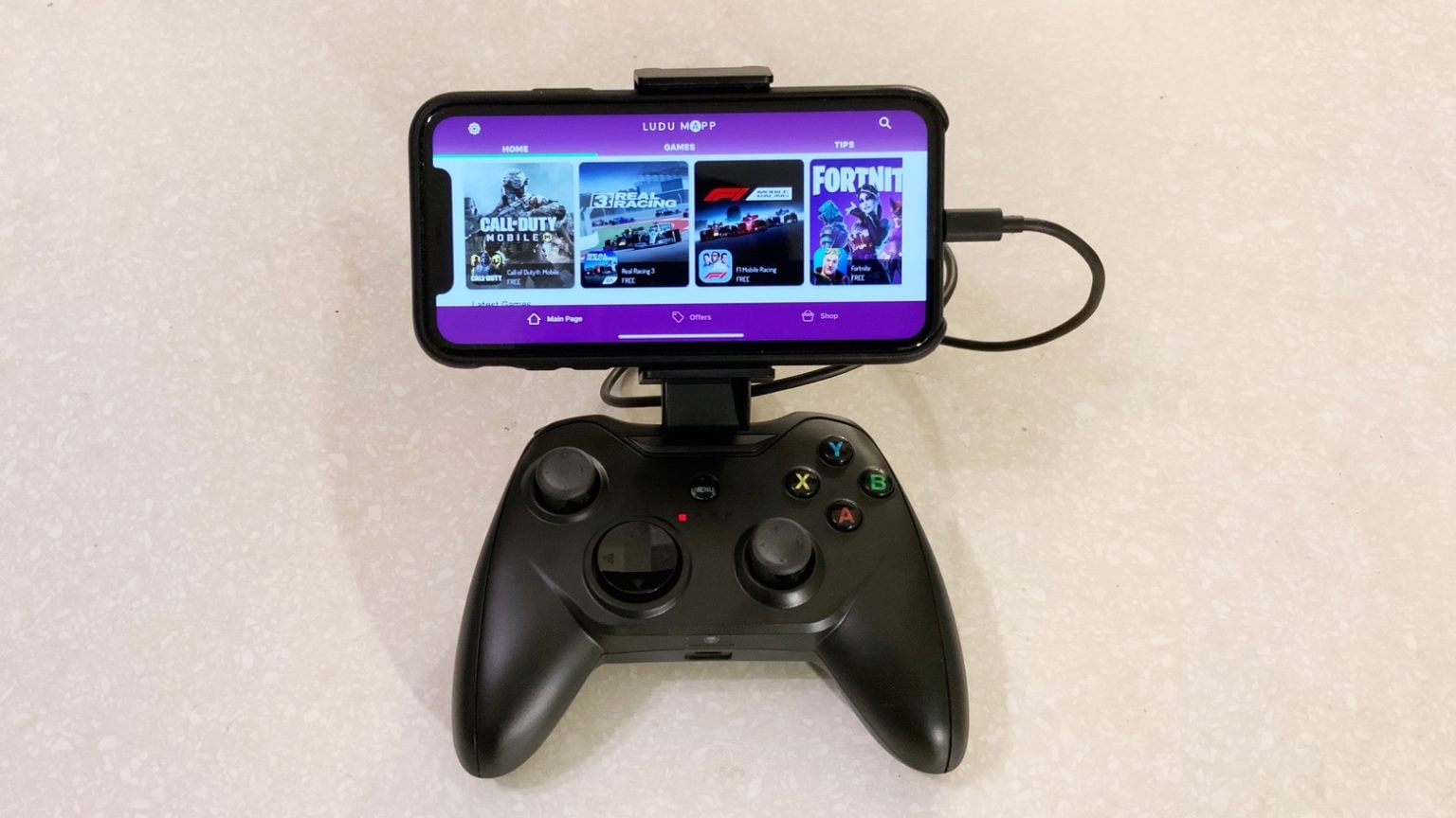 Rotor Riot Wired Game Controller plays well with Apple Arcade.