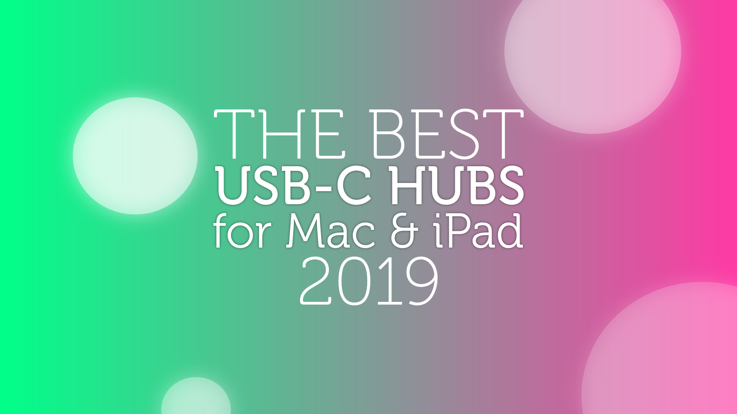 Best-USB-C-hubs-2019