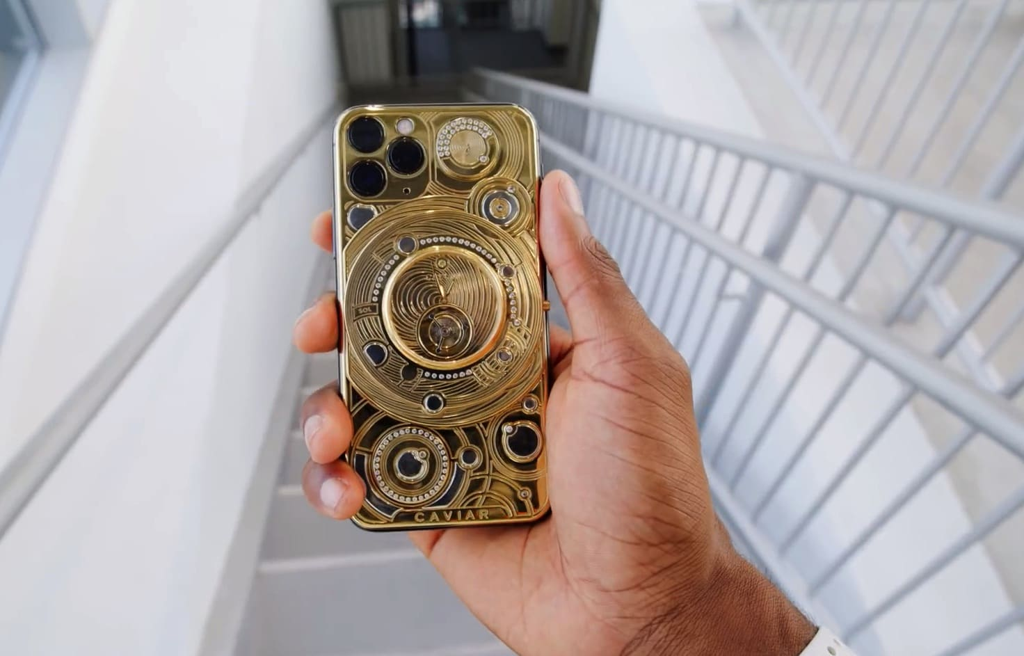 This is what it's like to unbox the world's most expensive iPhone