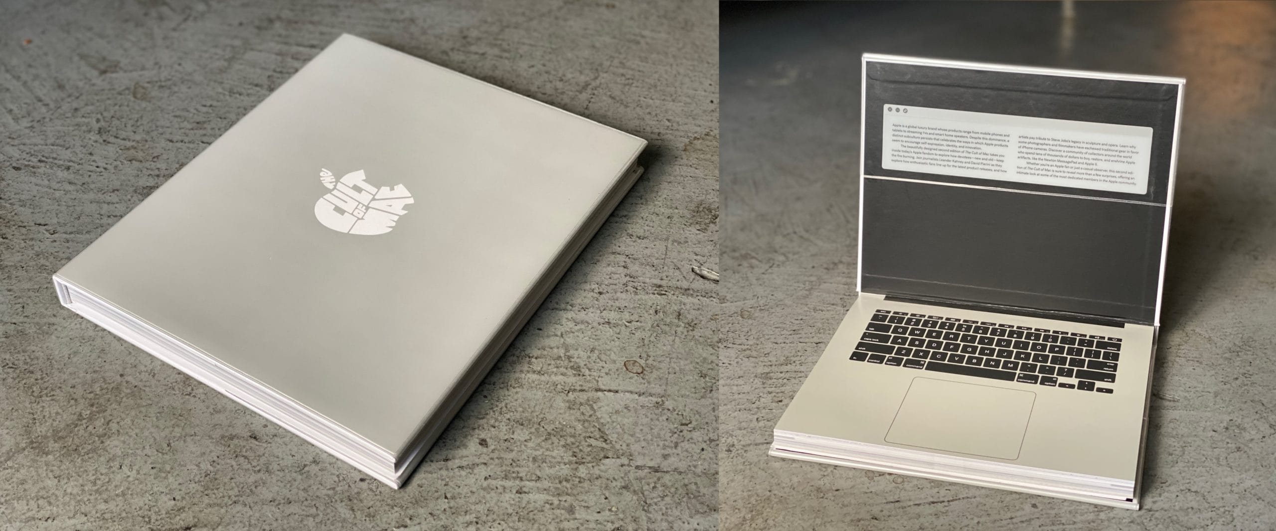 Innovative design: The Cult of Mac, 2nd Edition is the Mac book that looks like a MacBook.
