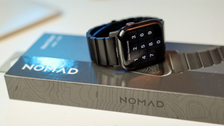 Nomad's line of metal bands (Stainless Steel and Titanium) add a touch of class to your Apple Watch for a lot less than Apple's own offering