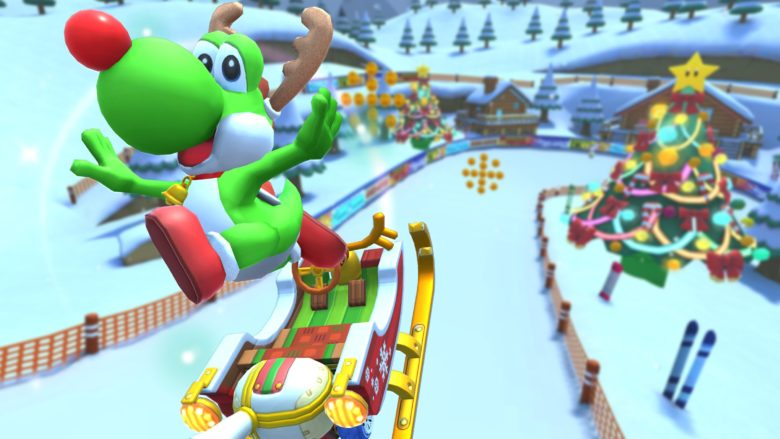 Mario Kart's final tour of 2019 brings holiday cups, courses and more