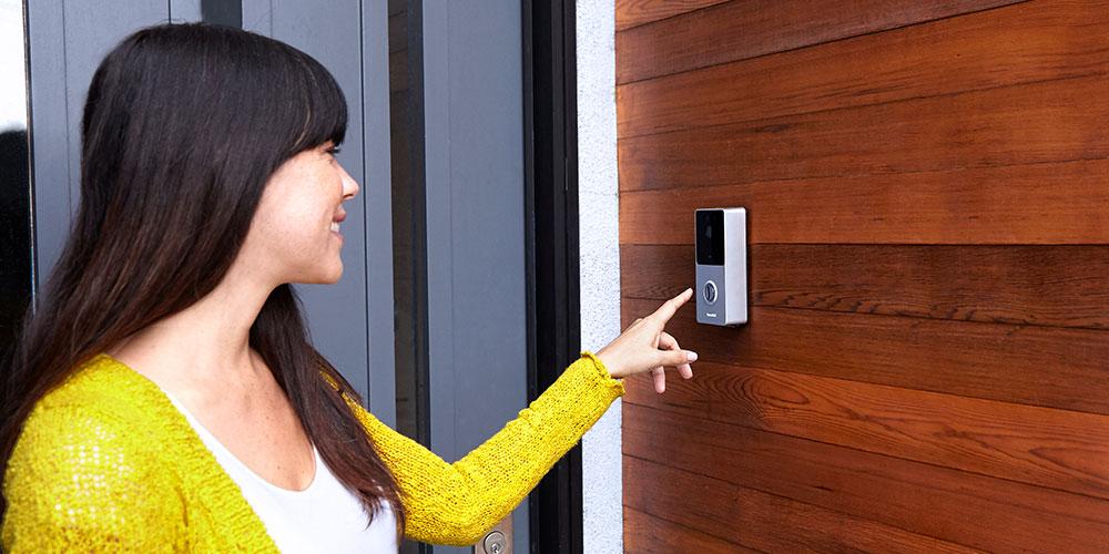 RemoBell® Black- Wireless Wi-Fi Video Doorbell