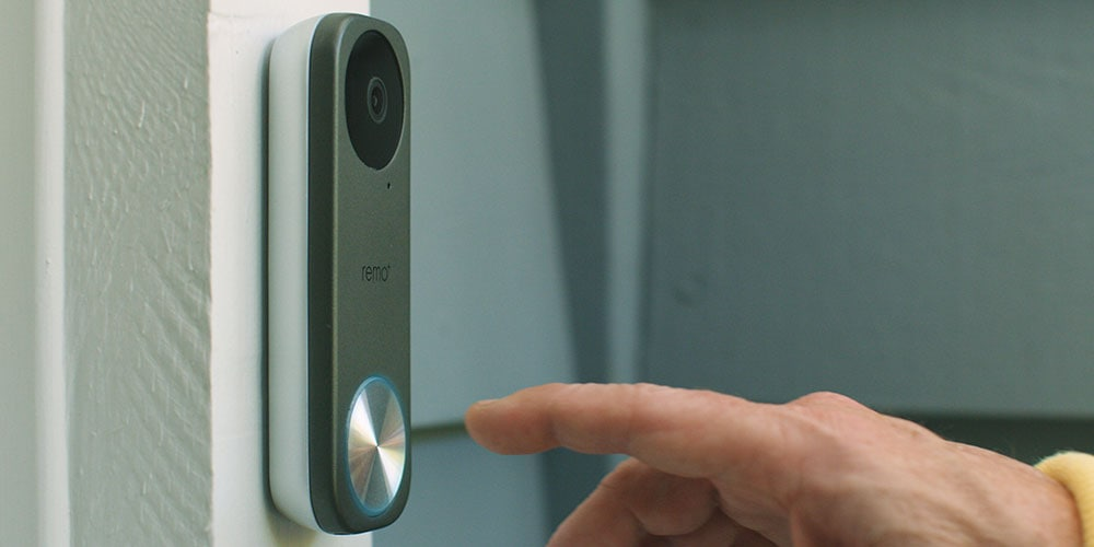 RemoBell® S- Fast-Responding Smart Video Doorbell Camera