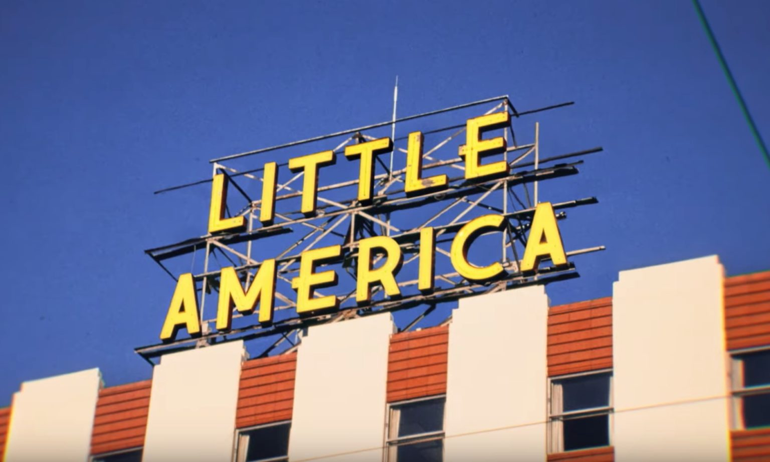 Little America was rejected from multiple networks being Apple snapped it up