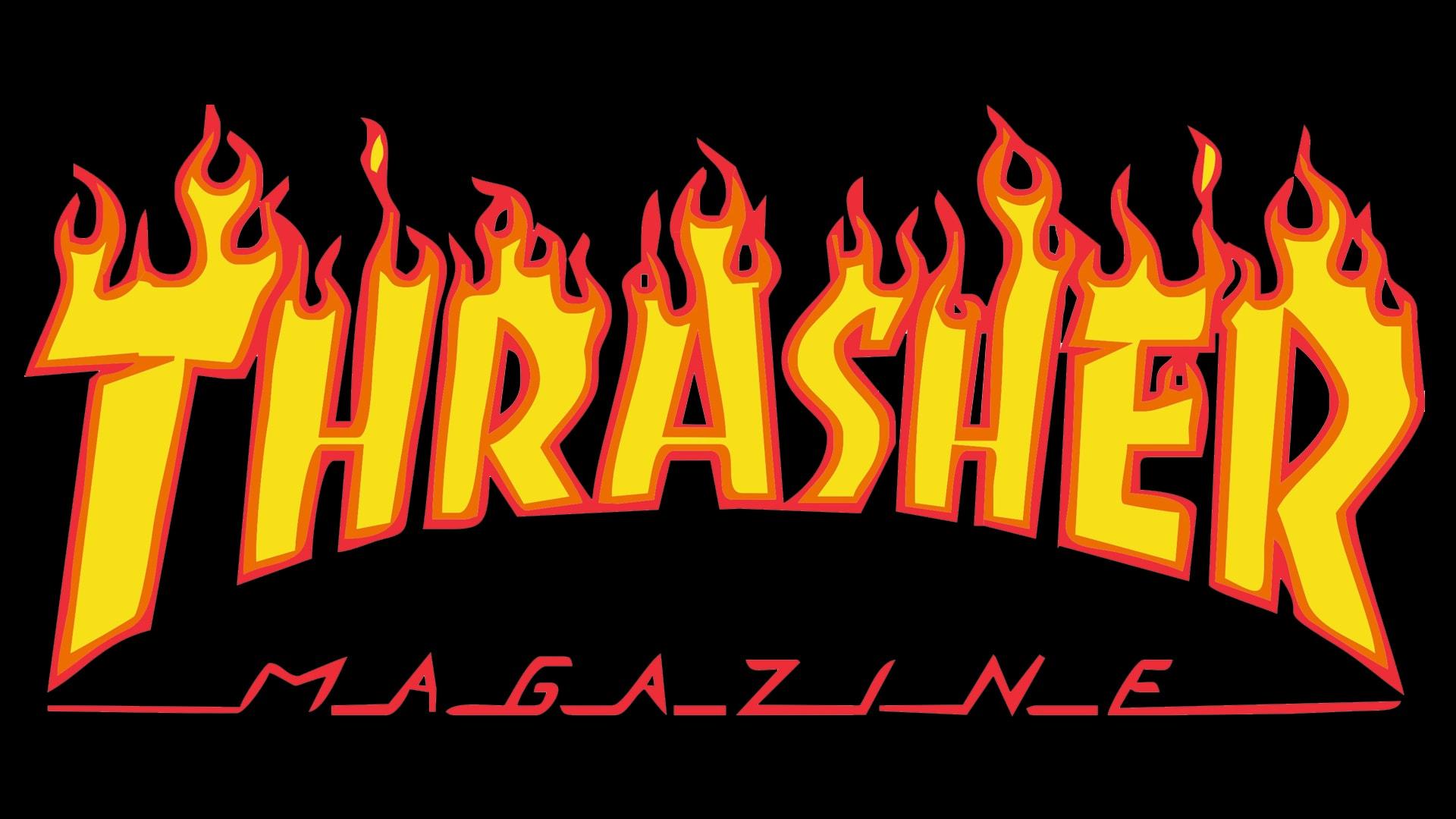 Thrasher logo.