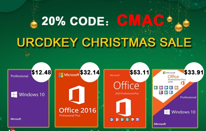 URCDKeys' holiday sale allows you to score a Microsoft Windows Pro OEM key at a great price