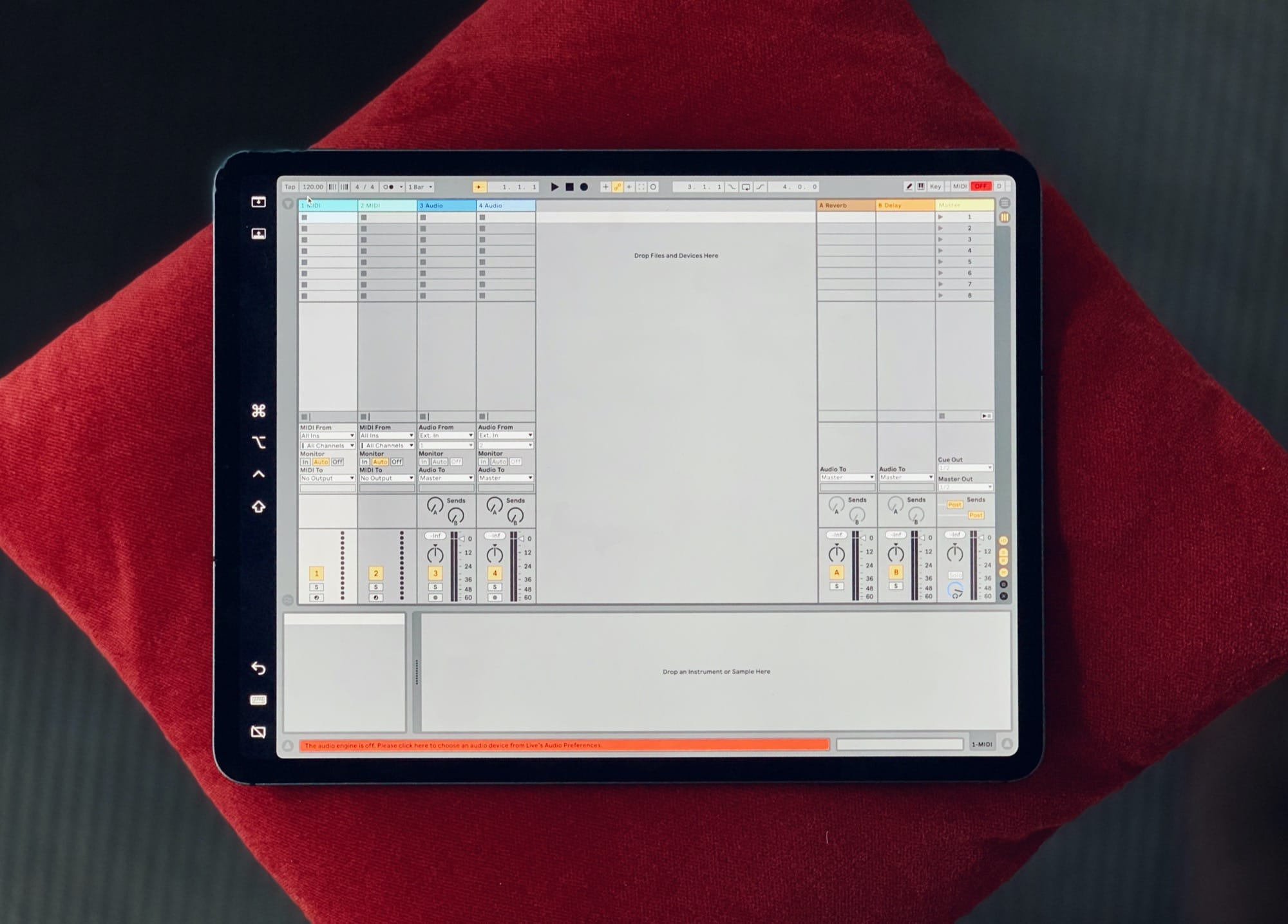 Ableton Live on the iPad
