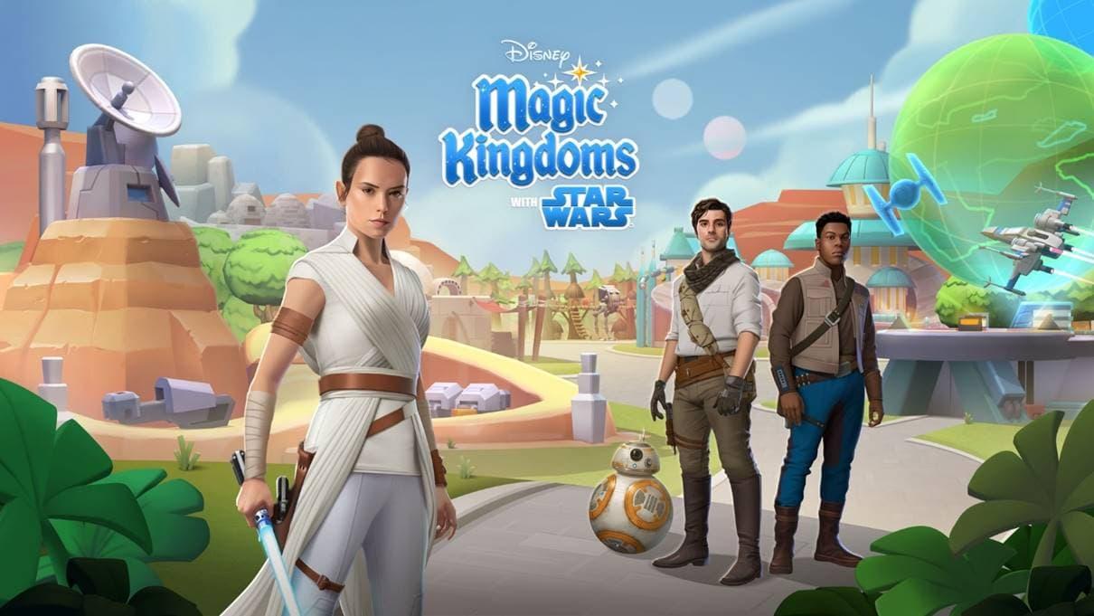 Disney Magic Kingdoms gets added Star Wars content