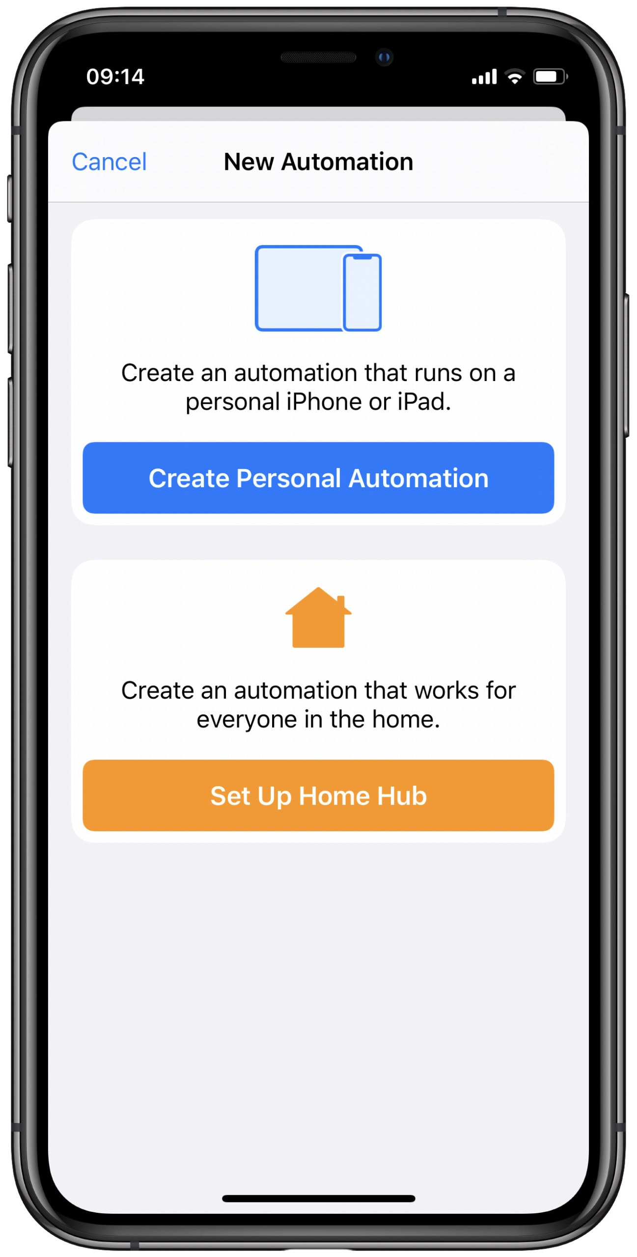 Create automations on your iPhone.