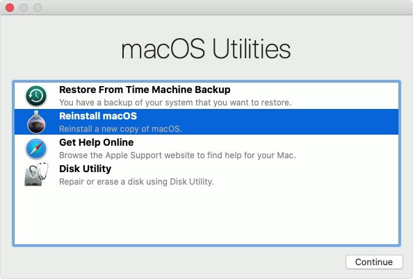 Be a good person, and reinstall macOS before you return or sell your Mac.