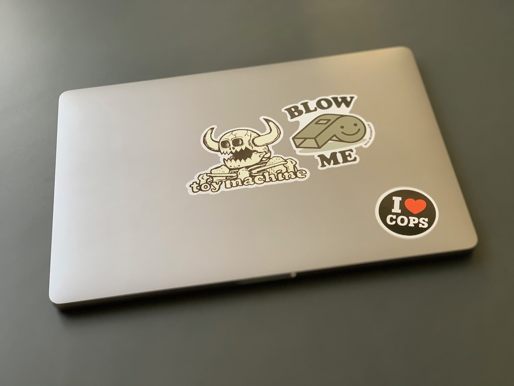 The hardest part of returning a MacBook is removing the stickers.