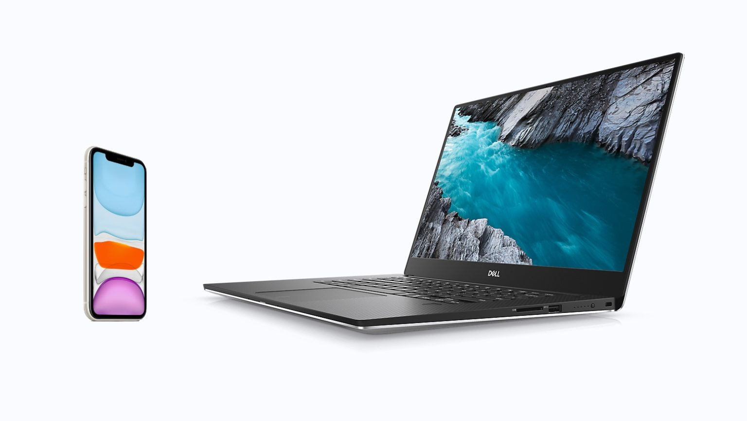 Your iPhone and laptop can be friends with Dell Mobile Connect