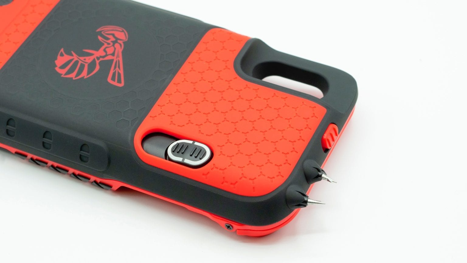 Yellow Jacket stun gun case for iPhone XS and iPhone X