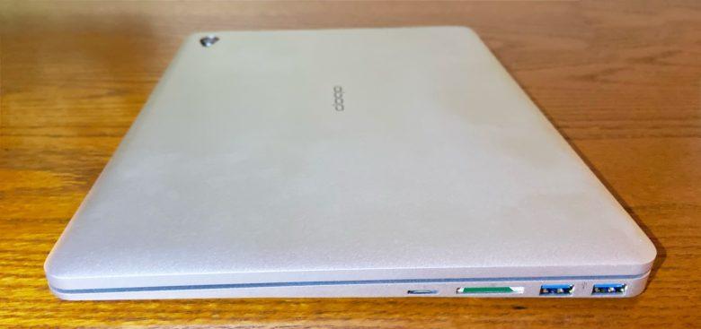 Doqo iPad keyboard right edge