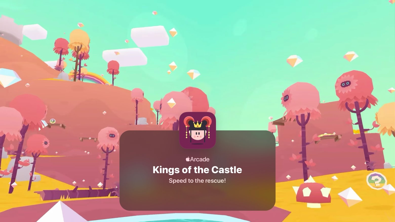 Kings of the Castle is the latest addition to Apple Arcade