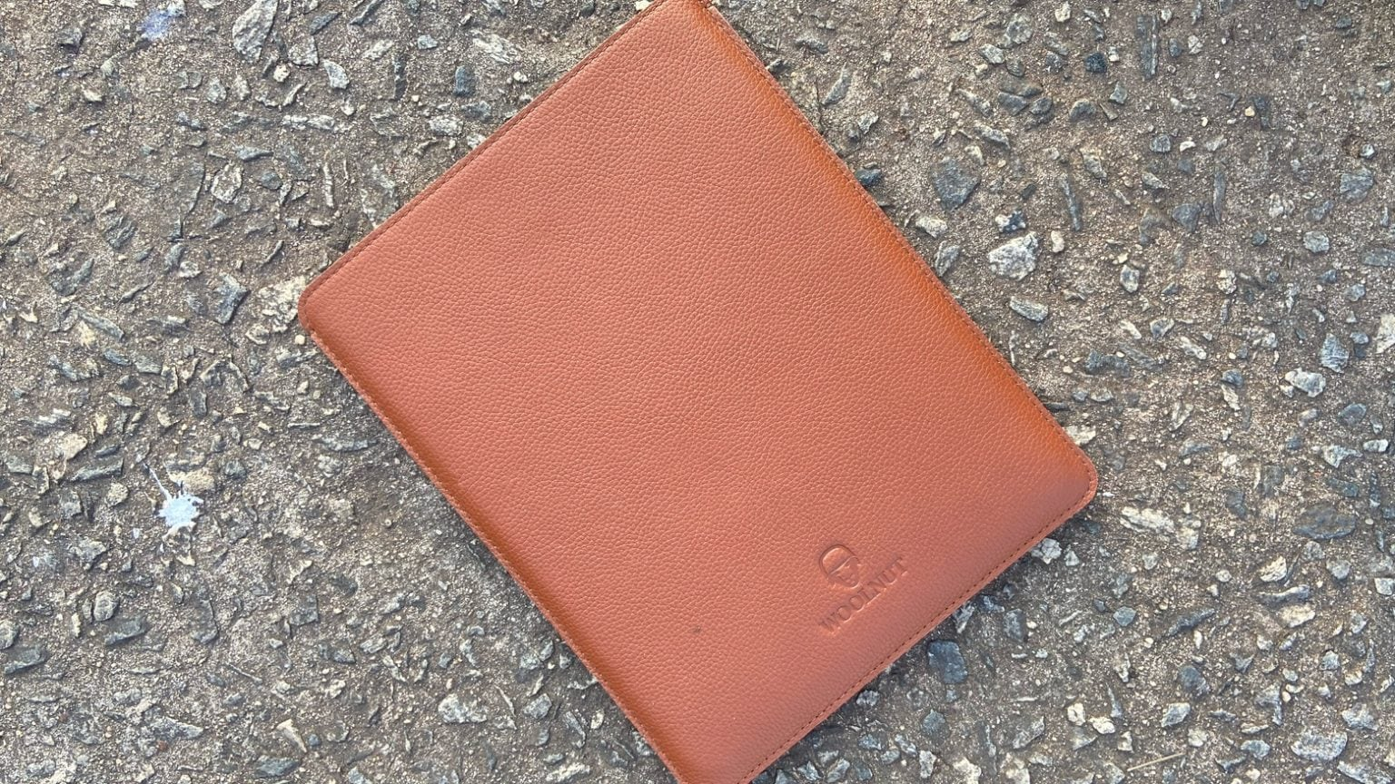 Woolnut Leather Sleeve for iPad Pro