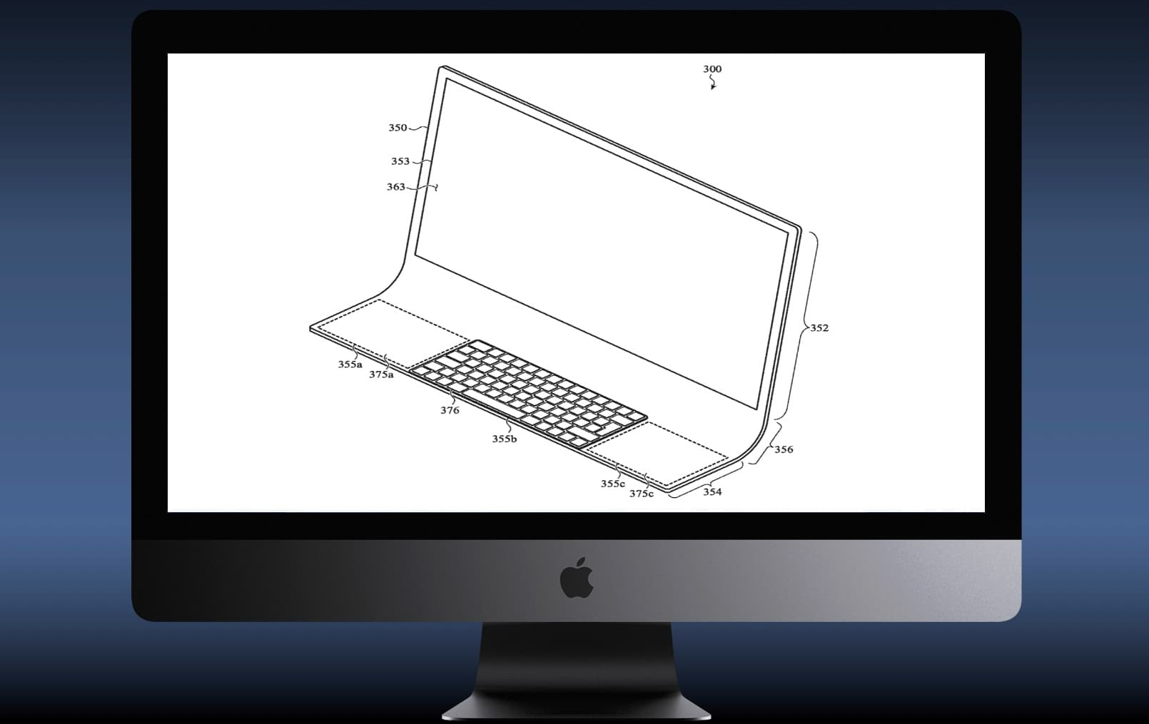 Patent reveals Apple iMac concept
