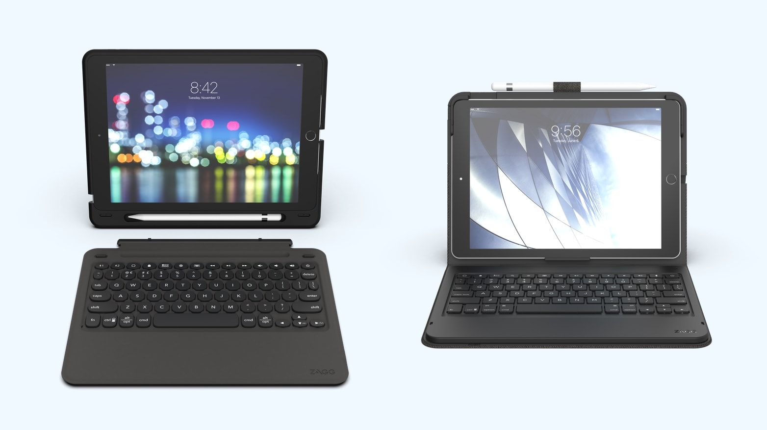 Zagg Slim Book Go and Zagg Messenger Folio