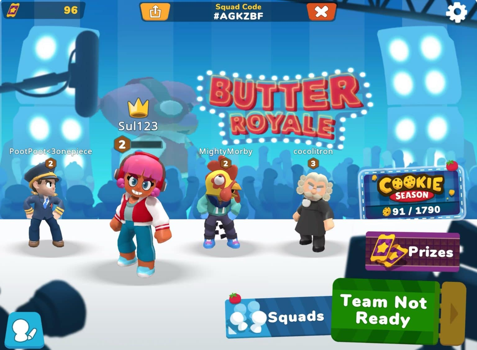 Butter Royale on Apple Arcade is a multi-player food fight