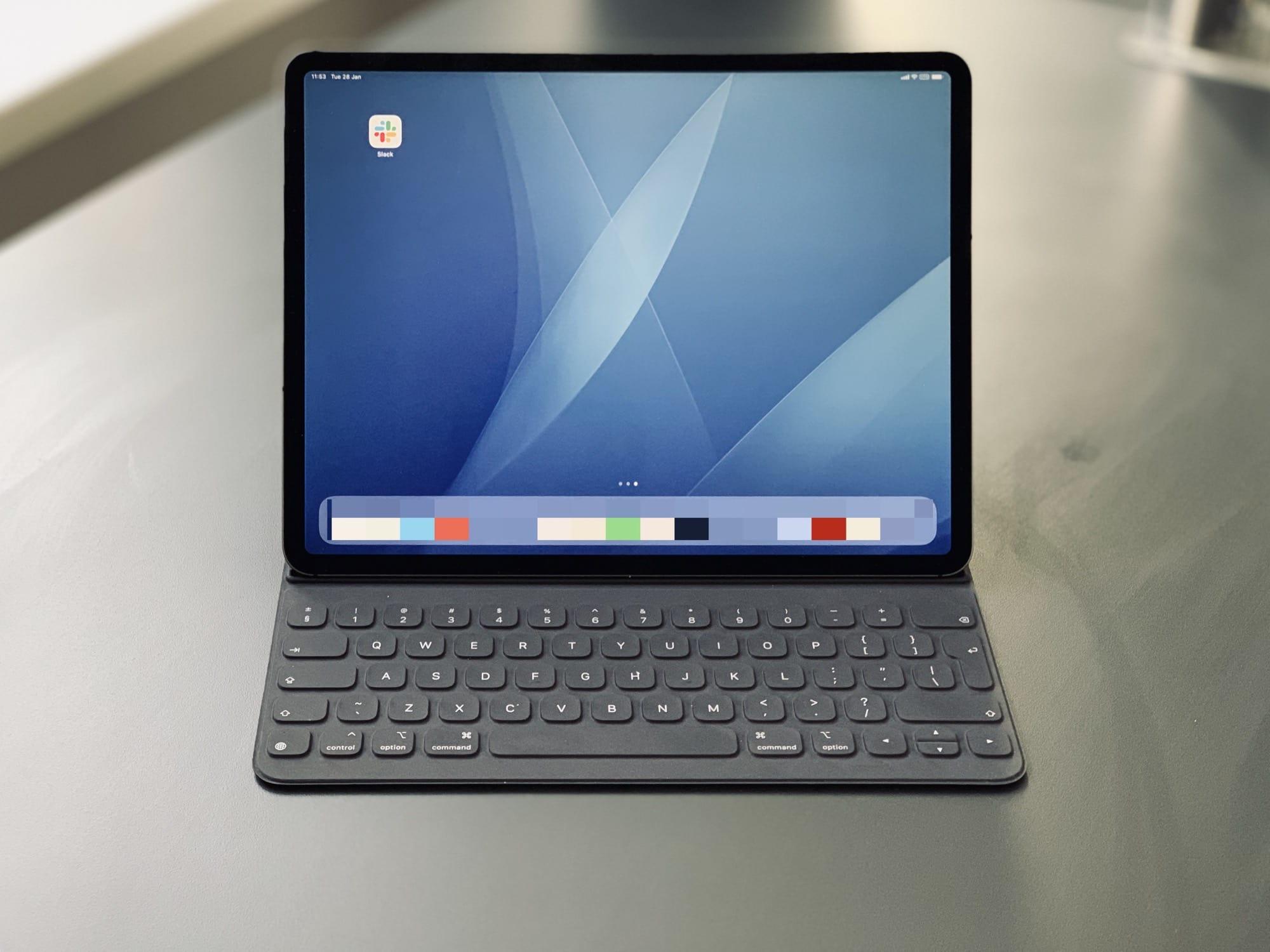 Mac wallpaper on iPad