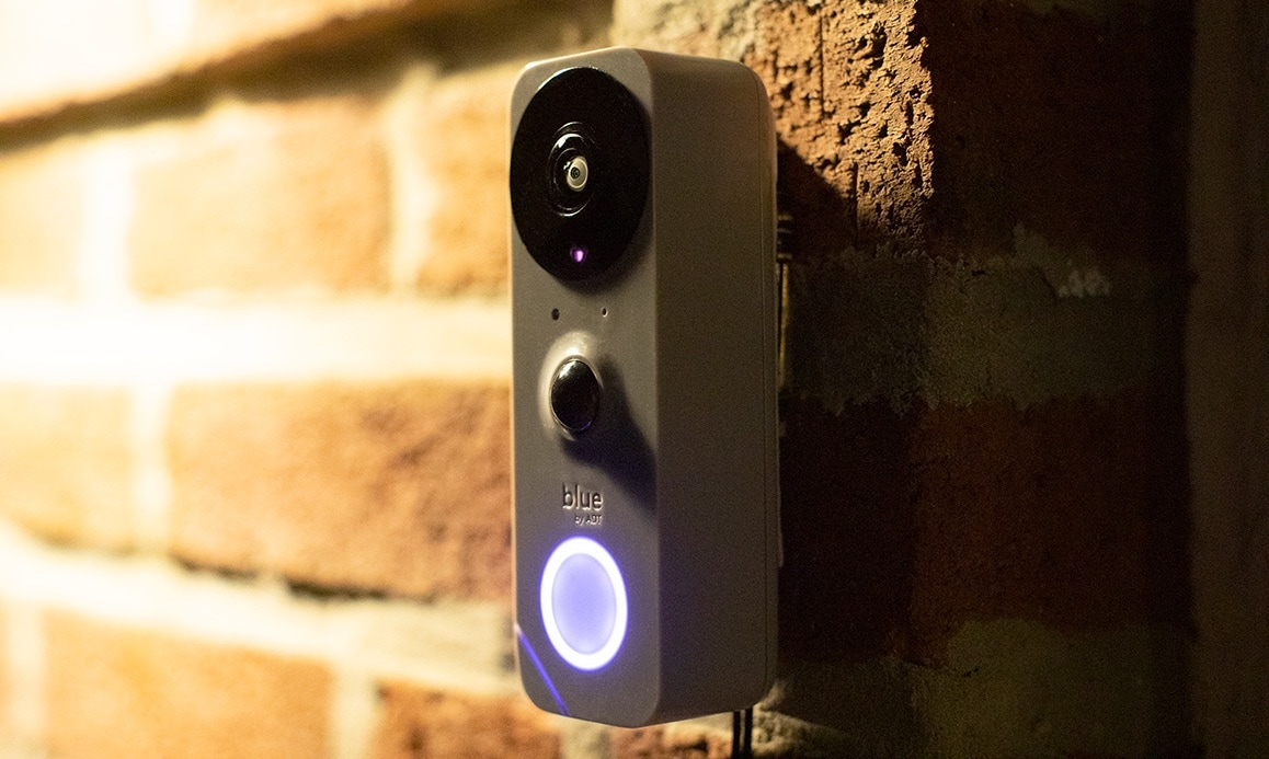 ADT Blue Doorbell Camera is a DYI project.