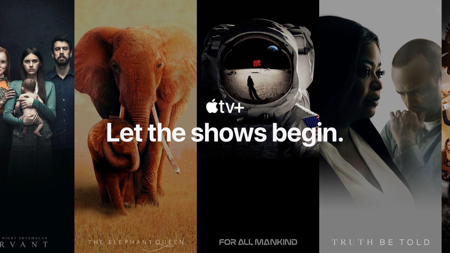 Apple TV+ has a growing amount of content