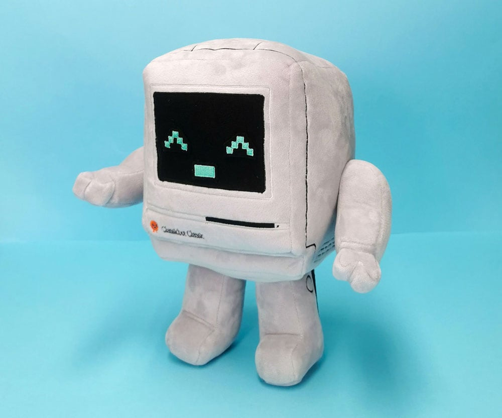 plush Mac by Philip Lee