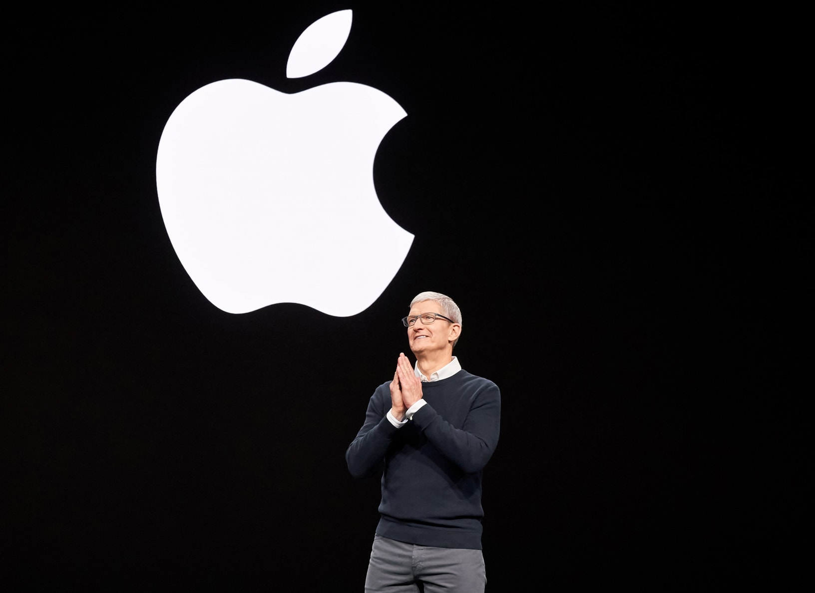 Tim Cook is keeping quiet about Apple TV+ subscriber numbers for now.